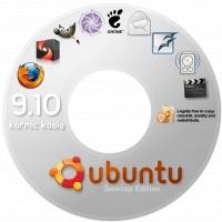 Ubuntu 9.10 DVD封面