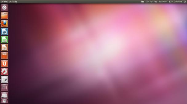 Ubuntu 12.04 beta unity