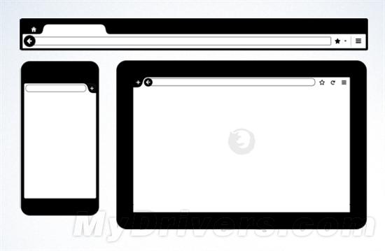 Firefox桌面/手机/平板机版新界面曝光