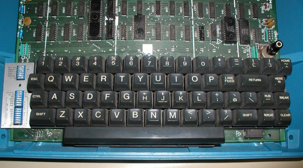 ADM3A keyboard