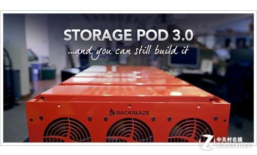 开源存储怪兽Pod3.0 4U空间180TB随便装