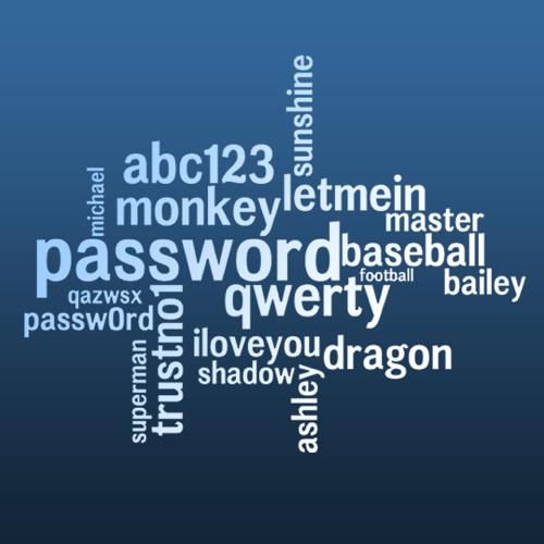 19 worst passwords