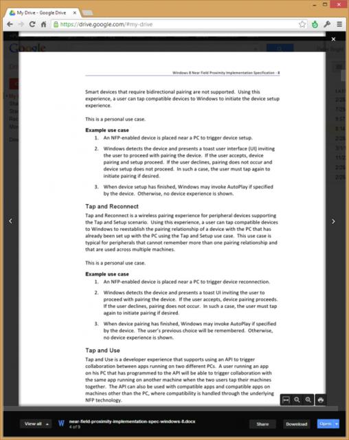 Chrome Office初体验:和微软Office对抗还嫩点