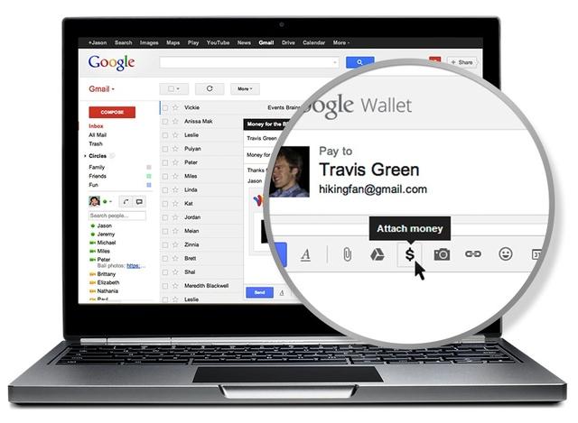 Google Wallet Gmail Send Money
