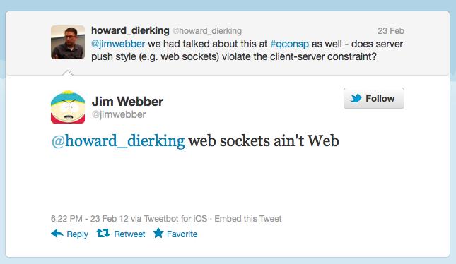Jim Webber tweet