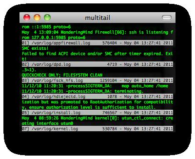 multitail screenshot