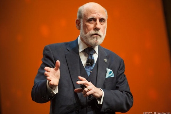 Vint Cerf, one of the creators of the Internet