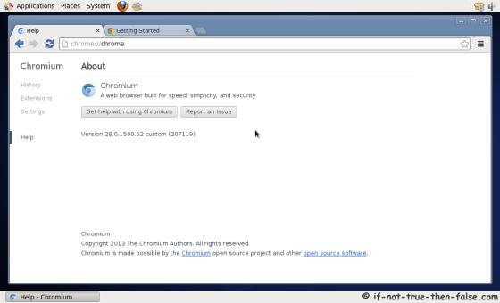 Chromium Running on CentOS 6