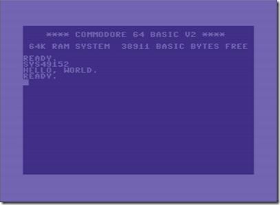 c64machinecall