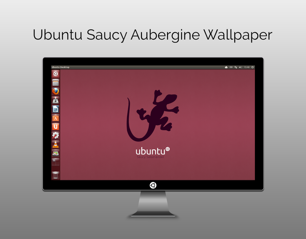 Ubuntu-Saucy-Aubergine-Wallpaper
