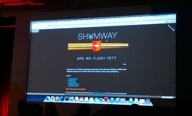Mozilla秘密研发Flash Player替代品:Shumway