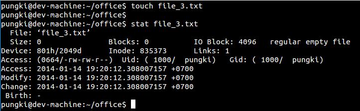Reset file_3.txt timestamp