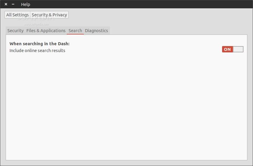 Stop online search in Ubuntu 14.04 LTS