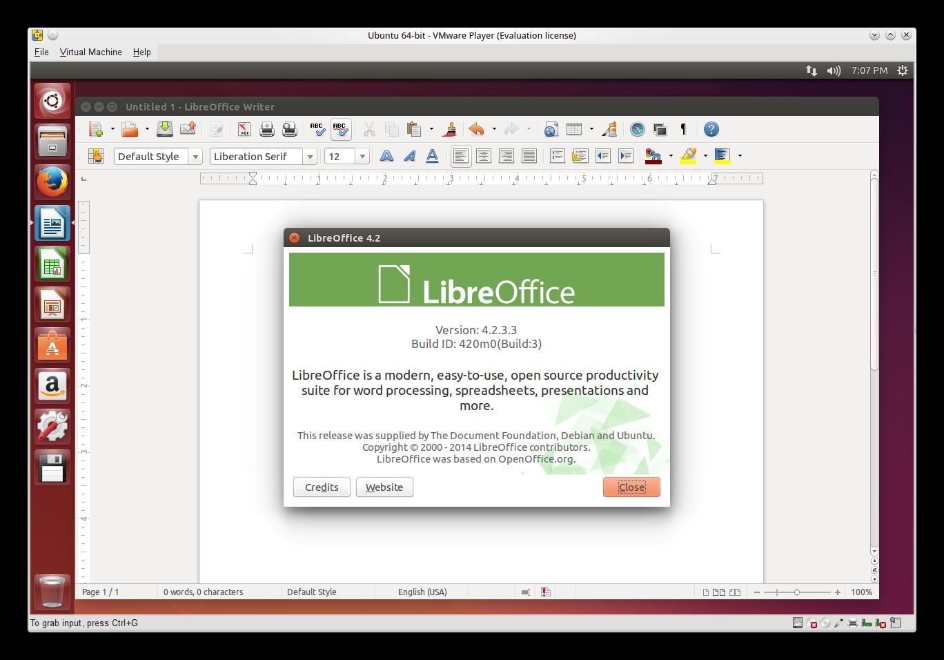 Ubuntu 14.04 LTS Libre Office Upgrade