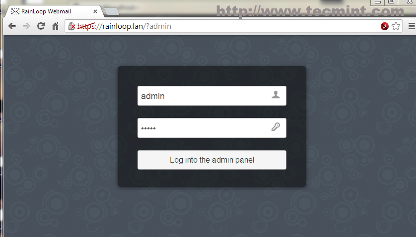 Rainloop Web Interface
