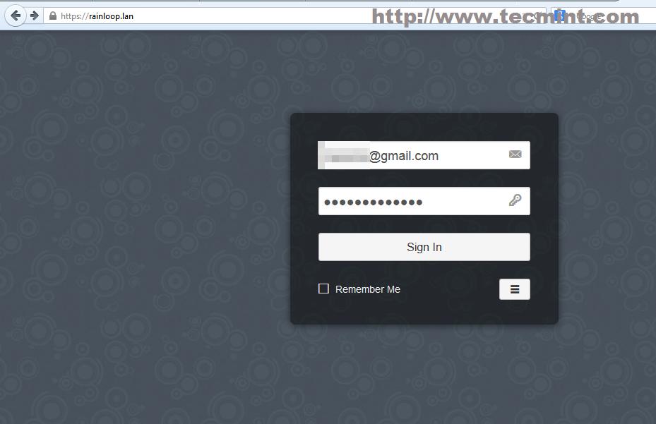 Login to Gmail Domain