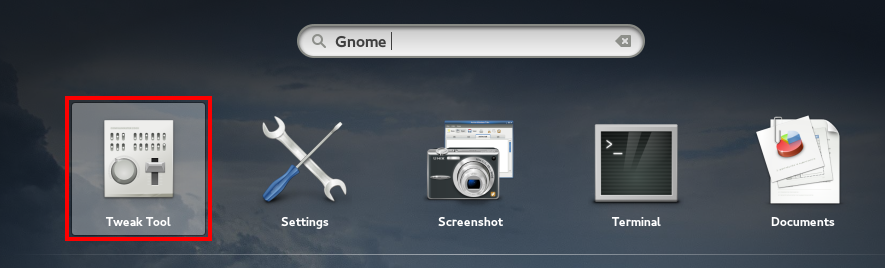 Gnome_Tweak_tool_launch