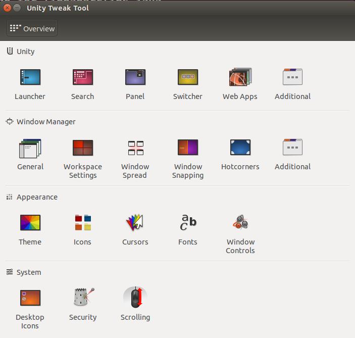 Ubuntu 14.04 LTS Official Unity Tweak Tool