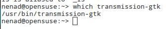 which transmission-gtk