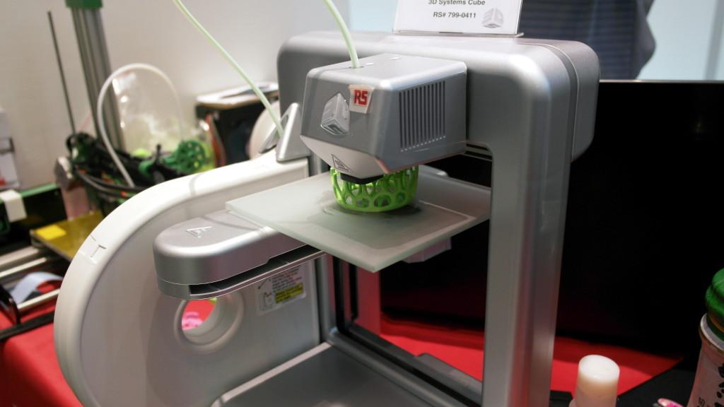 展台的3D现场打印