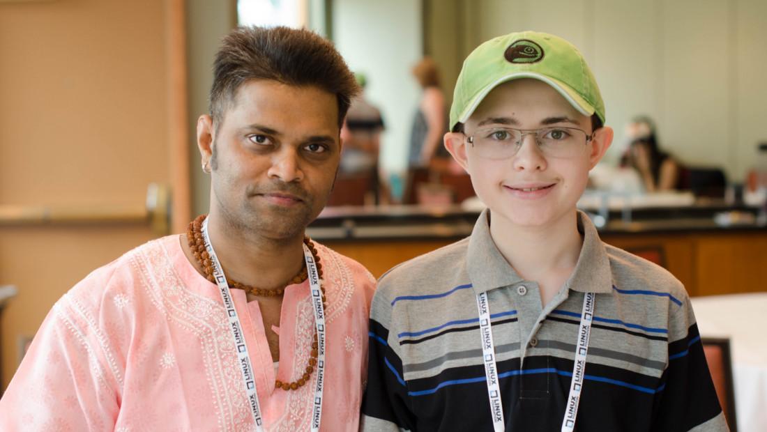 Swapnil Bhartiya with Zachary DuPont