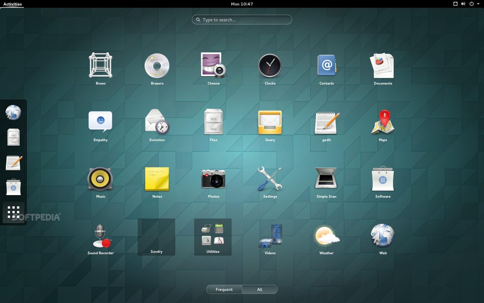 The GNOME 3.14 desktop