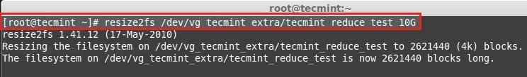 Reduce File System