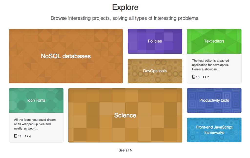 ExploreGitHub 1024x648 GitHub vs. Bitbucket: It's More Than Just Features