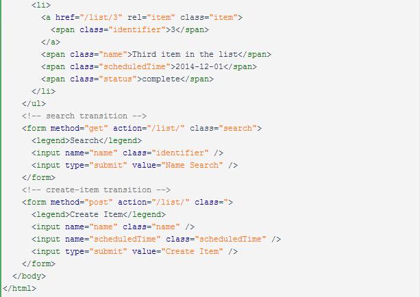 Web API设计方法论