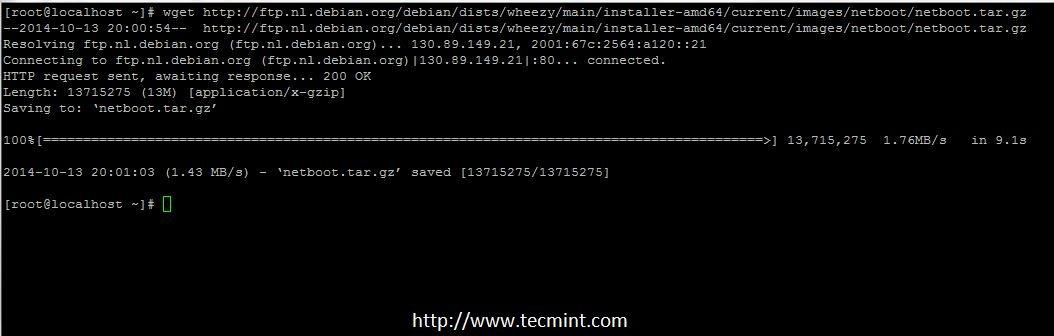 Download Debain 7 Netboot