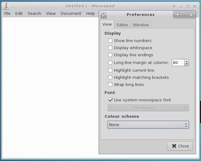 mousepad-prefs