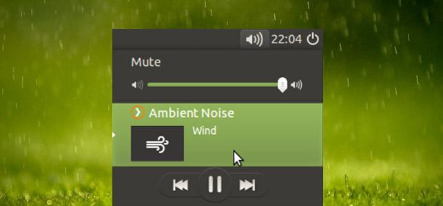 Ubuntu下让你放松的环境声音播放器——Ambient Noise