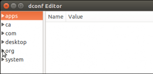 Dconf Editor Apps, org