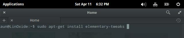 install elementary tweaks