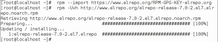 添加 Elrepo 源