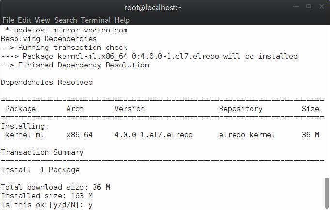 从ELRepo安装Linux内核4.0