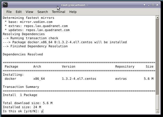 安装 Docker