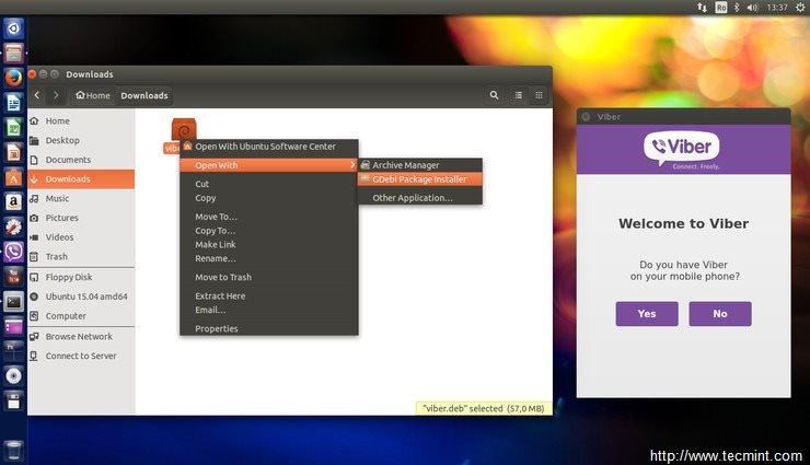 Install Viber in Ubuntu