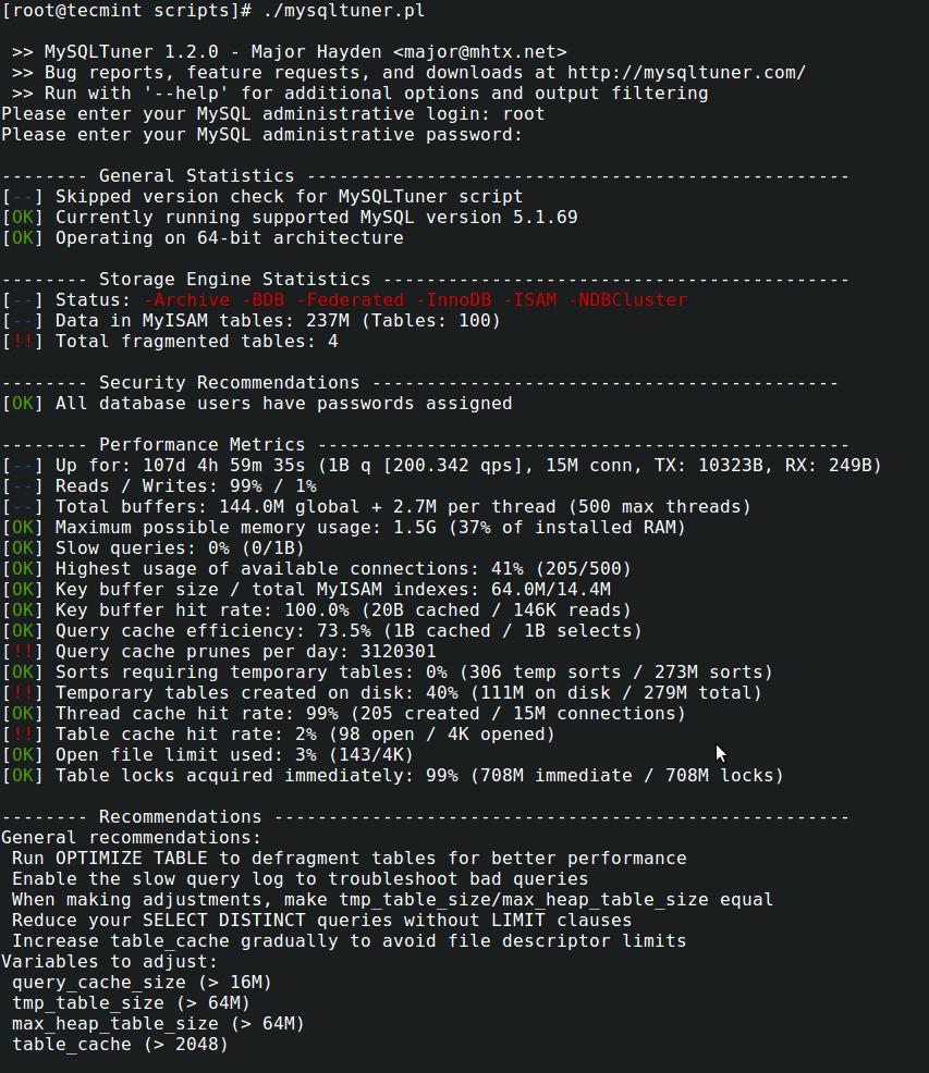MySQL 性能优化