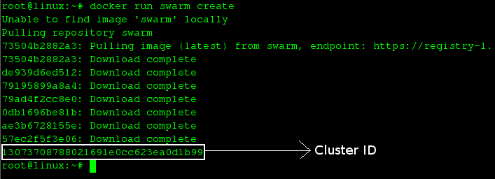 Creating Swarm Cluster