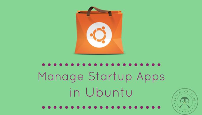 在 Ubuntu 中管理开机启动应用