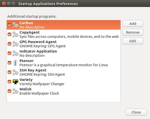 在 Ubuntu 中查看开机启动程序