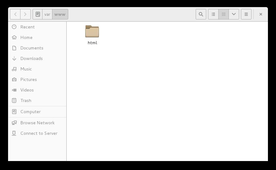 在文件管理器中打开目录