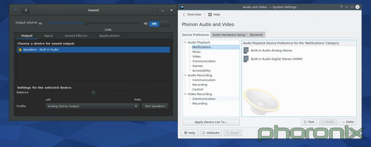 Gnome 和 KDE 的音量控制