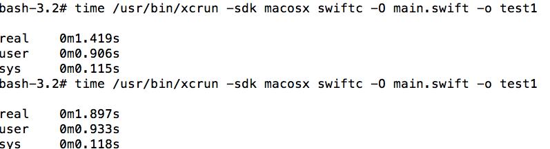 图10、减少了类型推断之后,编译速度大幅度提升