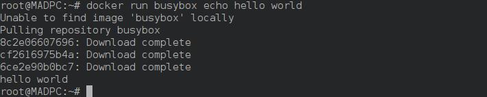 运行 Docker 容器