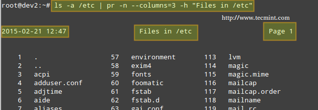 File Formatting in Linux