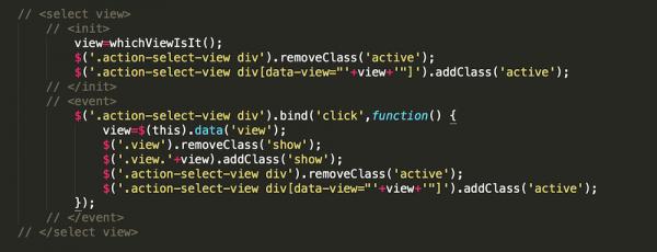 HTML 标记风格的代码注释