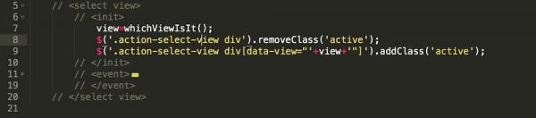 在Sublime Text 可折叠的HTML 标记风格的代码注释