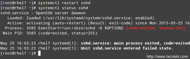 更改 SSH 的端口